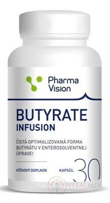 BUTYRATE INFUSION (Pharma Vision) cps 1x30 ks