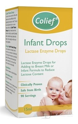 Colief Infant Drops Lactase Enzyme kvapky do mlieka 1x15 ml
