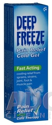 Deep Freeze Pain Relief Cold Gel chladivý gél v tube 1x100 g