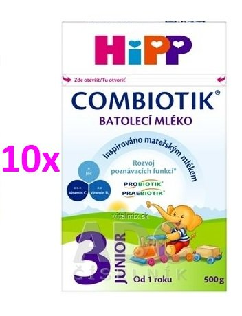 HIPP JUNIOR COMBIOTIK 3 10X500G