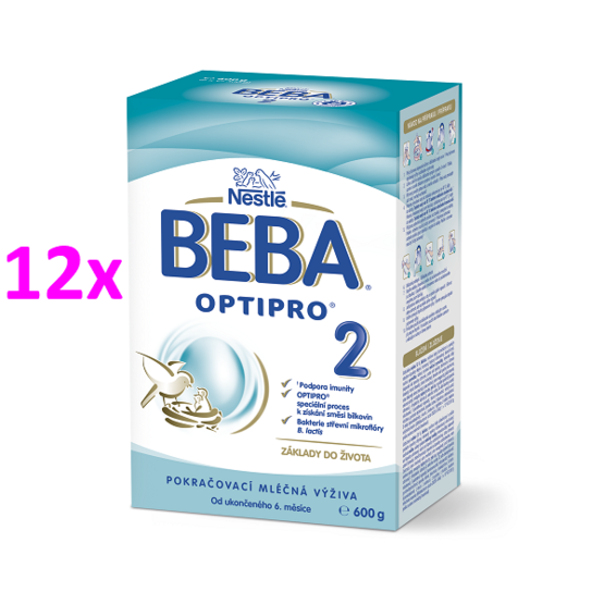 BEBA OPTIPRO 2  600G 12ks