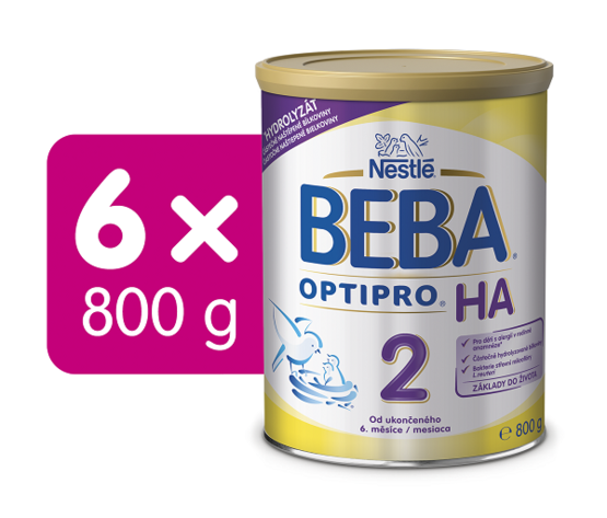 BEBA OPTIPRO H.A. 2 800G 6Ks