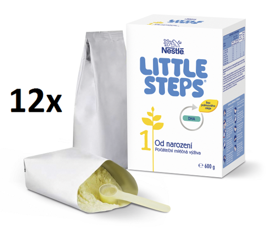 LITTLE STEPS 1 12x600g