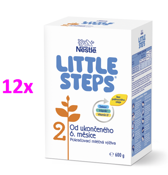 LITTLE STEPS 2 12x600G
