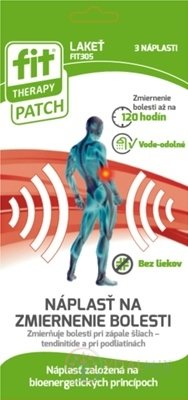 FIT THERAPY Patch LAKEŤ náplasť 1x3 ks
