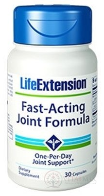 LIFE EXTENSION Fast-Acting Joint Formula cps 1x30 ks