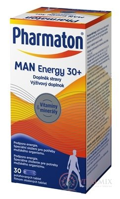 Pharmaton MAN Energy 30+ tbl 1x30 ks