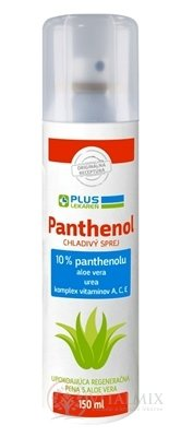 PLUS LEKÁREŇ Panthenol 10% CHLADIVÝ SPREJ sensitive, pena 1x150 ml