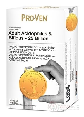 PRO-VEN Adult Acidophilus & Bifidus  - 25 Billion cps 1x30 ks