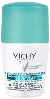 VICHY DEO ANTI-TRACES 48H Roll-on anti-transpirant (M5976801) 1x50 ml