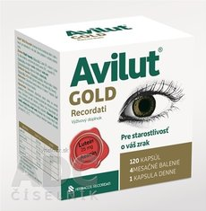 AVILUT Gold Recordati cps 1x120 ks