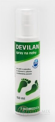 BIOMEDICA DEVILAN spray na nohy 1x150 ml