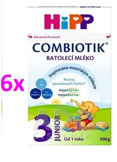 HIPP JUNIOR COMBIOTIK 3 6X500G
