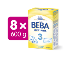 BEBA OPTIPRO 3 600G 8ks