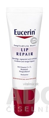 Eucerin LIP REPAIR balzam na pery 1x10 ml