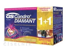GS Condro DIAMANT 2017 tbl 60+30 (90 ks), 1x1 set