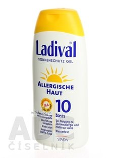 LADIVAL Allerg OF 10 gel 1x200 ml