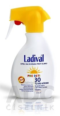 LADIVAL Children SPRAY SPF 30 sprej na ochranu proti slnku 1x200 ml