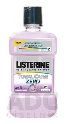LISTERINE TOTAL CARE ZERO ústna voda 1x250 ml