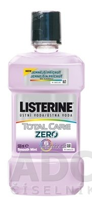 LISTERINE TOTAL CARE ZERO ústna voda 1x500 ml