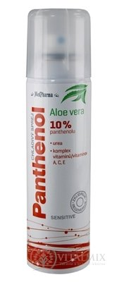 MedPharma PANTHENOL 10% CHLADIVÝ SPREJ Sensitive, s Aloe vera 1x150 ml