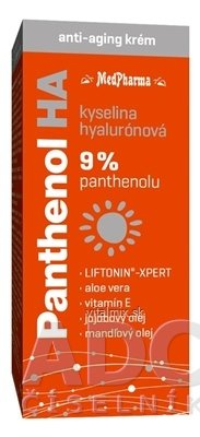 MedPharma PANTHENOL HA krém anti-aging 1x50 ml