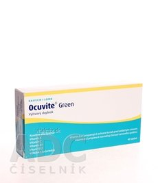 Ocuvite Green tbl 1x60 ks