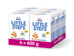 LITTLE STEPS 2 6x600g