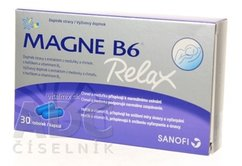 MAGNE B6 RELAX cps (50 mg + 0,7 mg) 1x30 ks