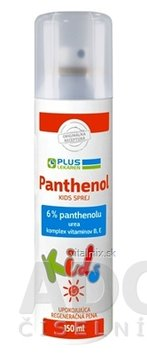 PLUS LEKÁREŇ Panthenol 6% KIDS SPREJ sensitive, pena 1x150 ml