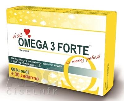 FARMAX Omega 3 Forte cps 60+30 ks zadarmo (90 ks)